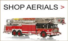 Shop Aerial scale model fire trucks