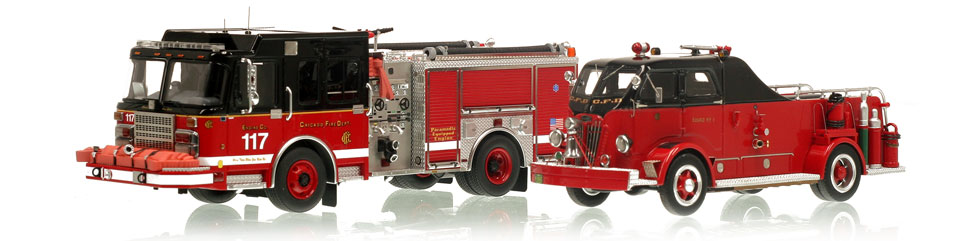 Shop Chicago Fire Department scale models