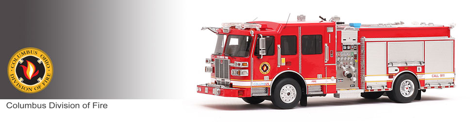 Shop museum grade Columbus scale models including the Sutphen Monarch Engine!