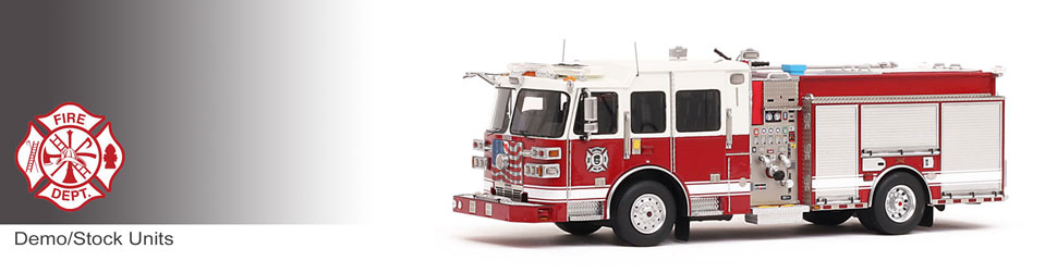 Shop museum grade Demo/Stock scale models including Sutphen Monarch Engines!