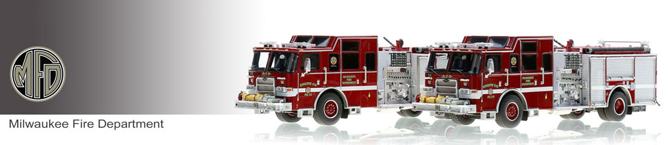 Shop museum grade Milwaukee scale models including Engines 26 & 32!