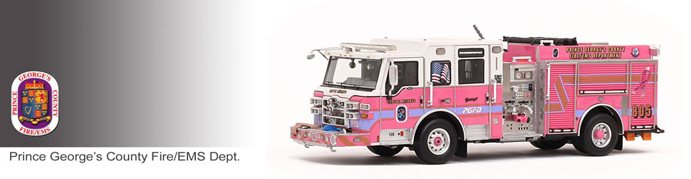Shop museum grade PGFD scale models including Courage E805!