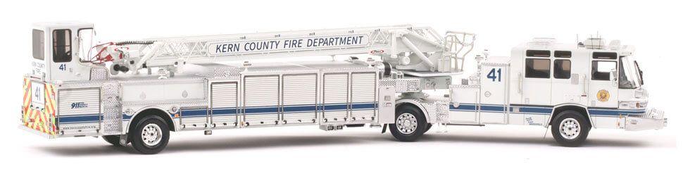Kern County Truck 41 Pierce Quantum 100' Tiller