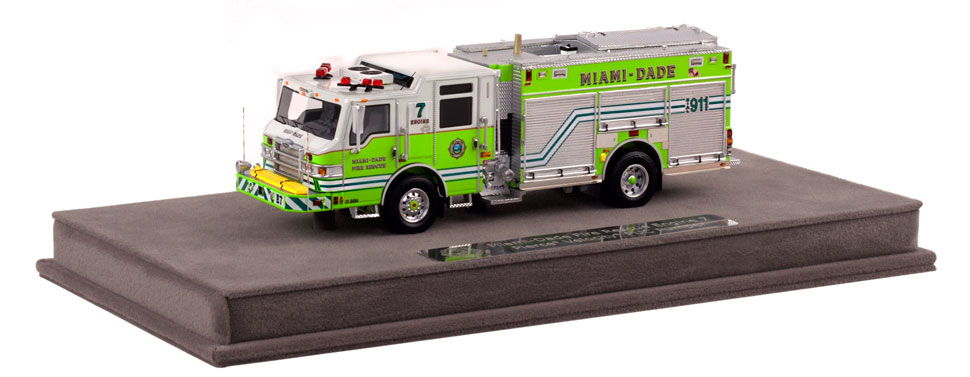 MDFR PUC Engine 7 includes a fully custom display case.