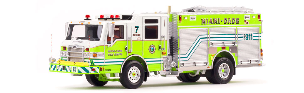 Miami-Dade PUC Engine 7 features over 300 individual parts.