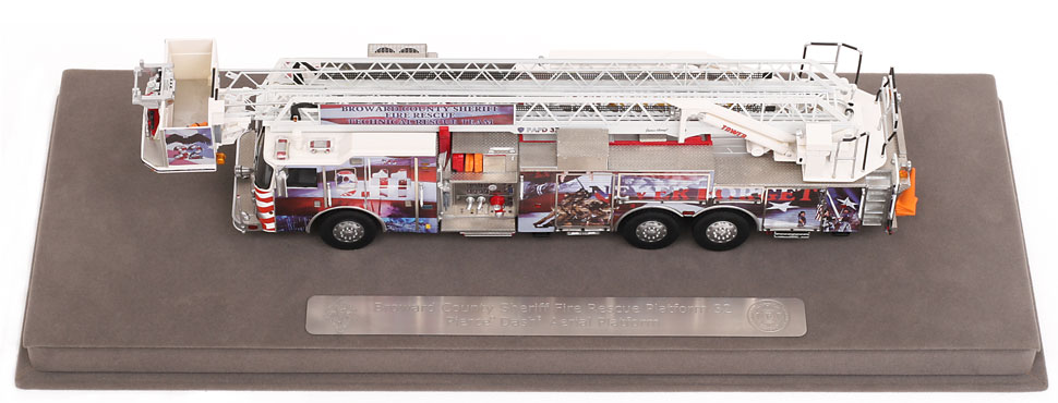 Order your Broward County Truck 32 - 9/11 Platform today!