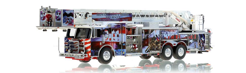 Broward County 9/11 Tribute Platform scale model