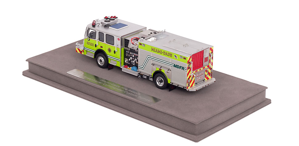 MDFR Engines include a fully custom display case