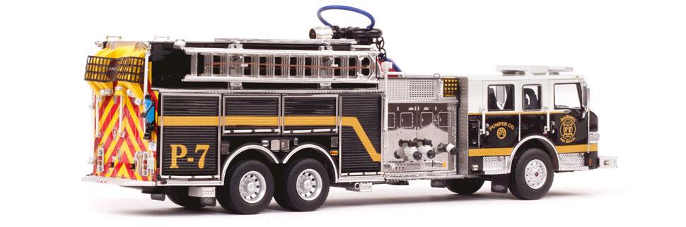 Jack Daniel's Fire Brigade P-7 Pumper is 100% genuine.