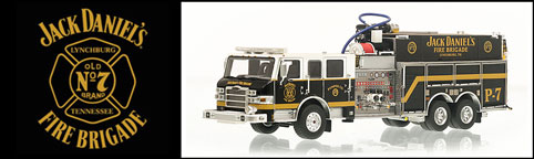 Authentic Jack Daniel's Fire Brigade P-7 Pumper