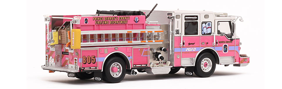 PGFD Courage E805 - Museum grade for a great cause