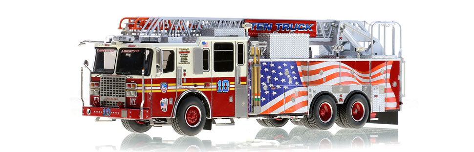 The only museum grade replica of FDNY Ten Truck
