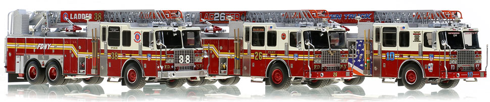 Order your FDNY Ferrara Ladder 3-piece set today!