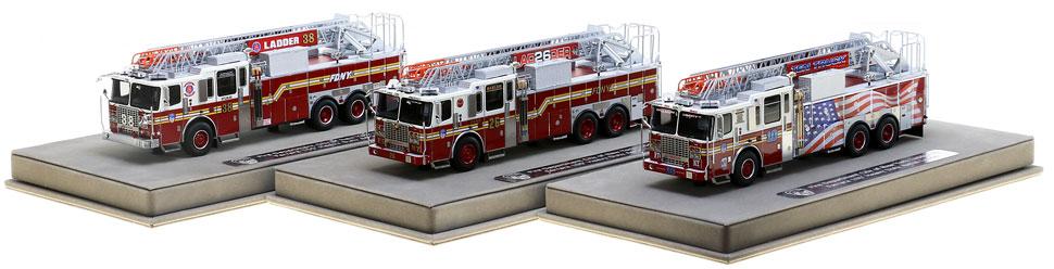 Each Ferrara Ladder includes a fully custom display case.