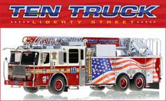 FDNY Ten Truck scale model replica