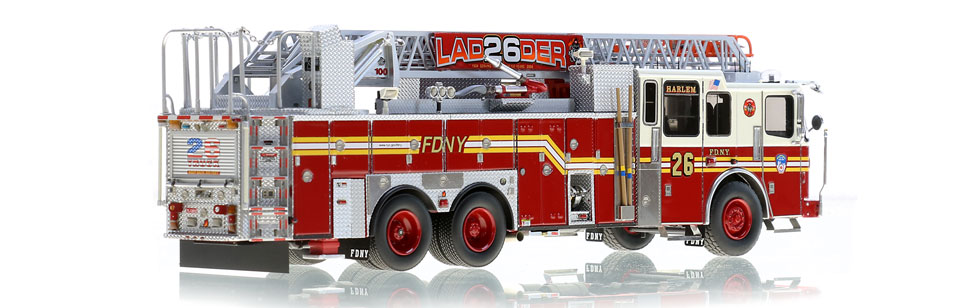 Production of Ladder 26 is limited to 125 units.
