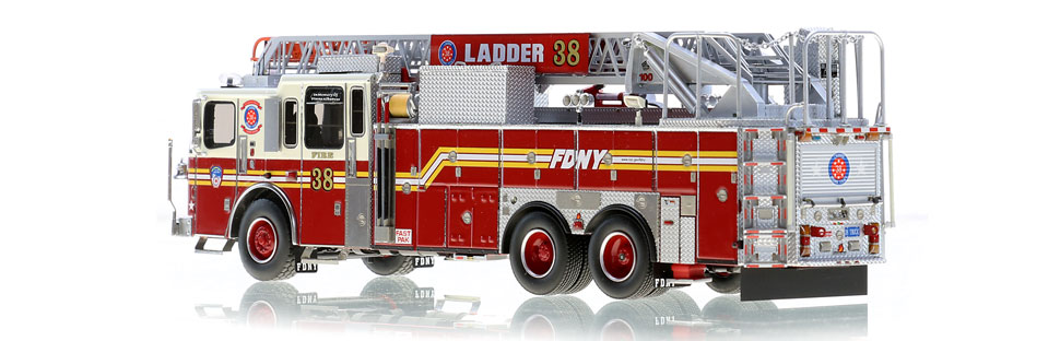 Production of Ladder 38 is limited to 125 units.