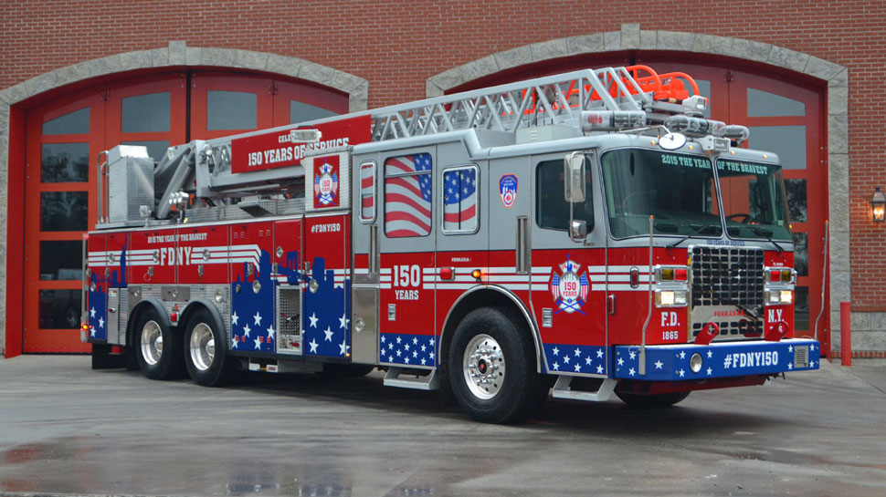 #FDNY1:50 Scale Model celebrating FDNY's 150 years of service