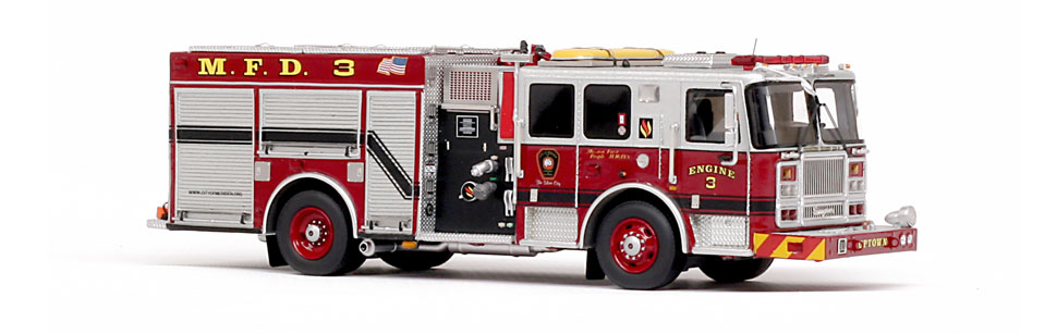 Meriden Engine 3 is features museum grade precision