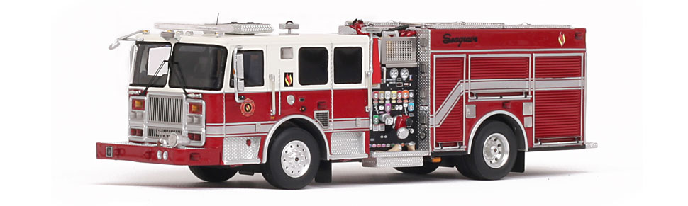 Seagrave Marauder II - 2017 Limited Edition replica.