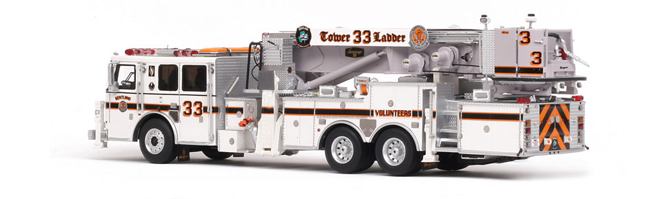 Production of Kentland Tower 33 is limited to 350 units.