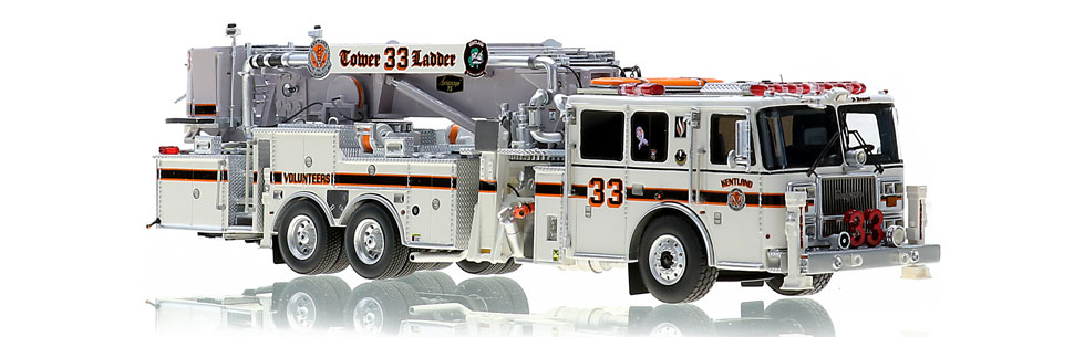 Kentland Tower 33 is hand-crafted using over 500 parts