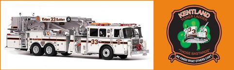 Kentland Volunteer Fire Department Tower 33