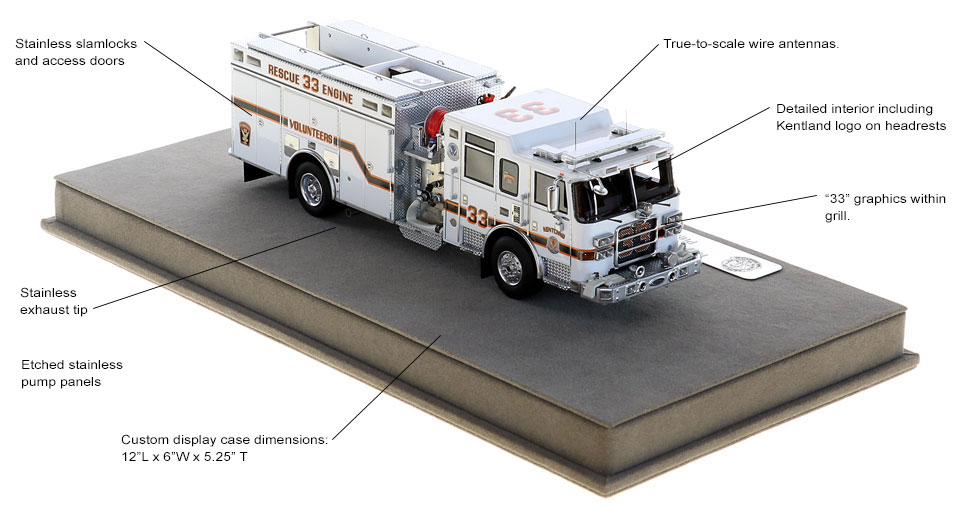 Order your Kentland Rescue Engine 33 today!