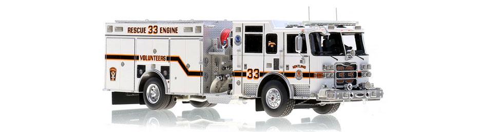 Kentland Rescue Engine 33 scale model