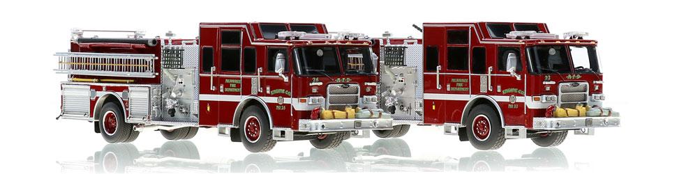 Shop Milwaukee scale model fire trucks