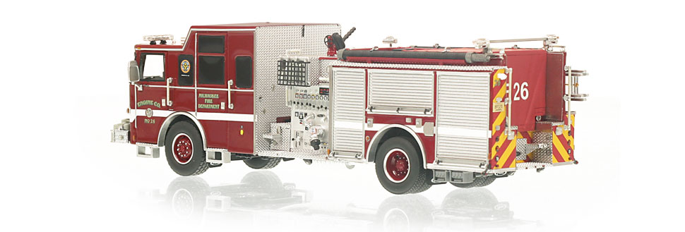 Production of Engine 26 is limited to 110 units.