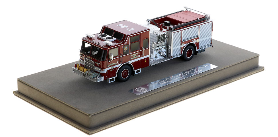 Milwaukee Engine 26 includes a fully custom display case.