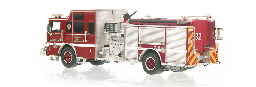 Production of Engine 32 is limited to 110 units.