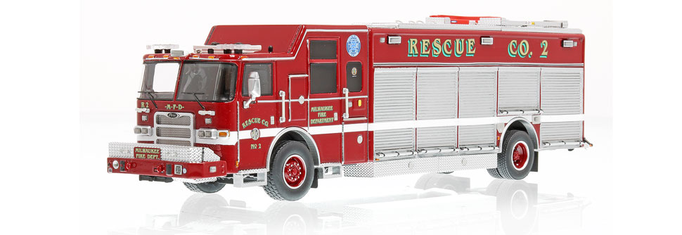 Rescue 2 is hand-crafted using over 380 individual parts.