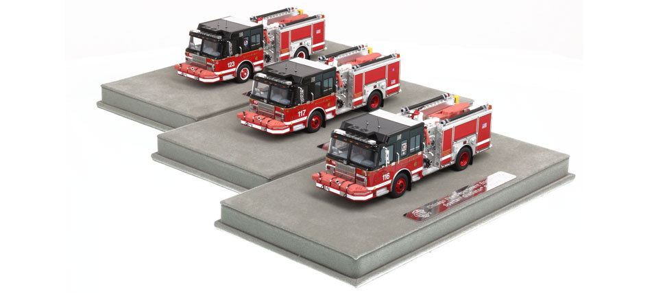 Complete your CFD Chicago set by ordering the 3-Piece Set!