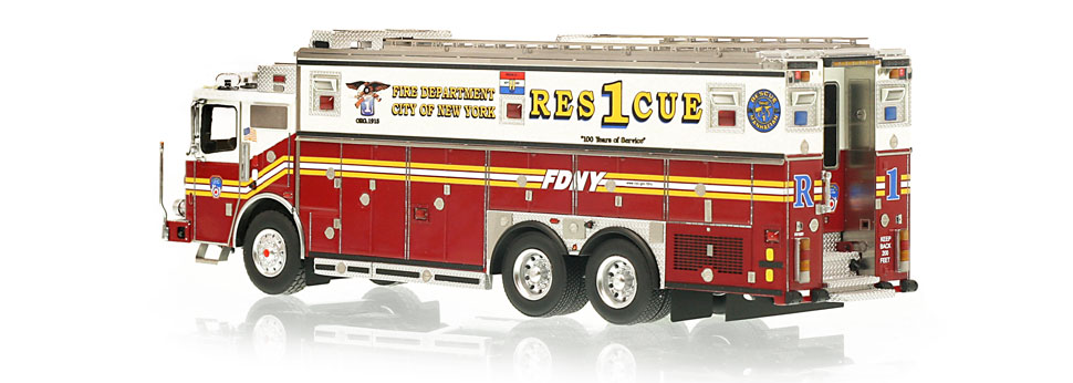 FDNY Rescue 1 is limited to 300 units.