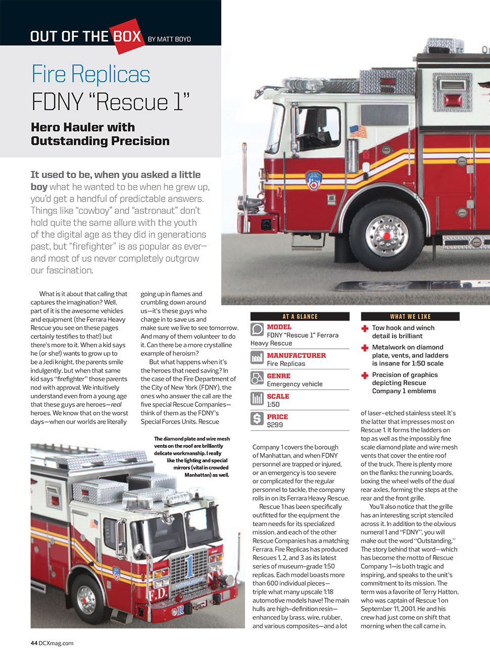 Learn more about FDNY Rescue 1
