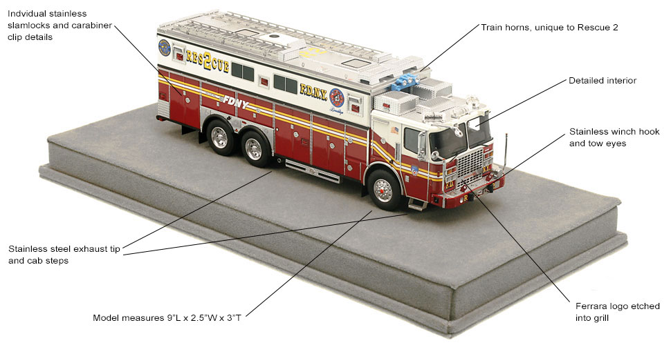 Order your FDNY Rescue 2 today!