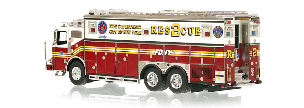 FDNY Rescue 2 is limited to 300 units.