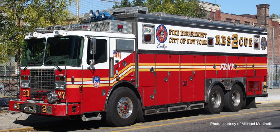 FDNY Rescue 2 real truck - Copyright Michael Martinelli