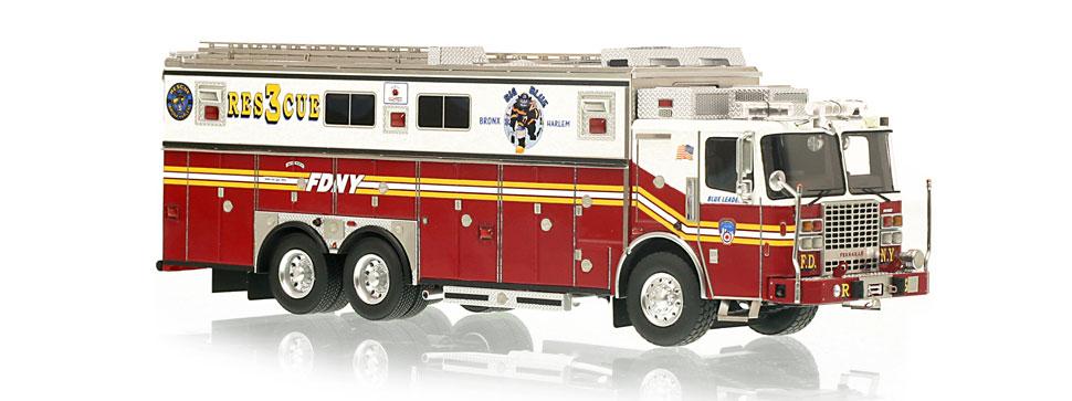 FDNY Rescue 3 features razor sharp accuracy