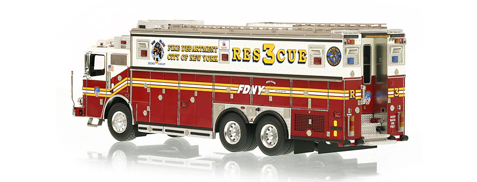 FDNY Rescue 3 is limited to 300 units.