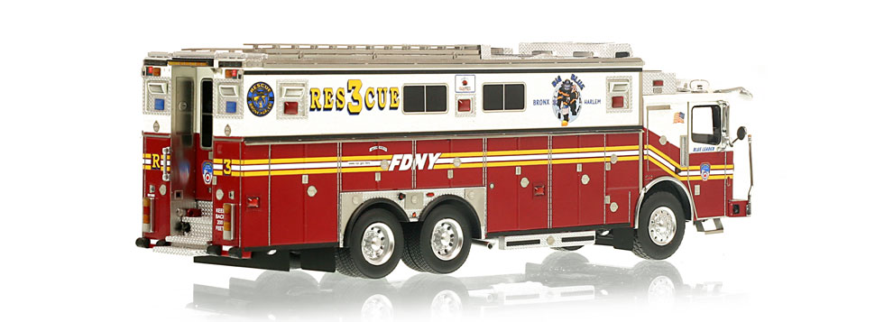 Authentic to FDNY Rescue 3 Ferrara Heavy Rescue