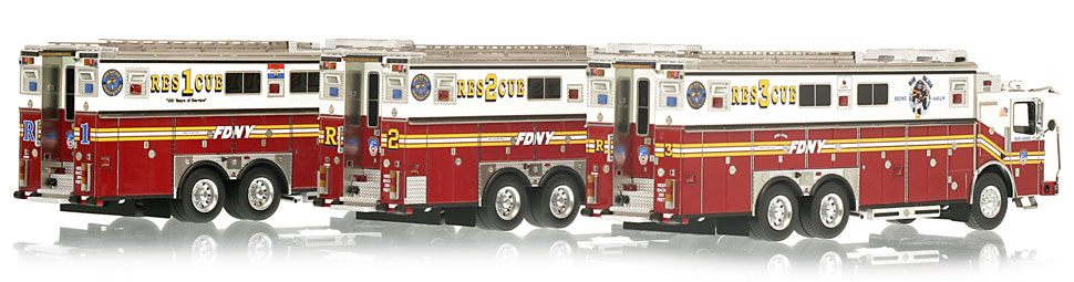 Order your FDNY Rescue 3-Piece Set today!