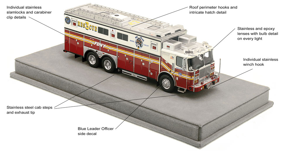 Order your FDNY Rescue 3 today!