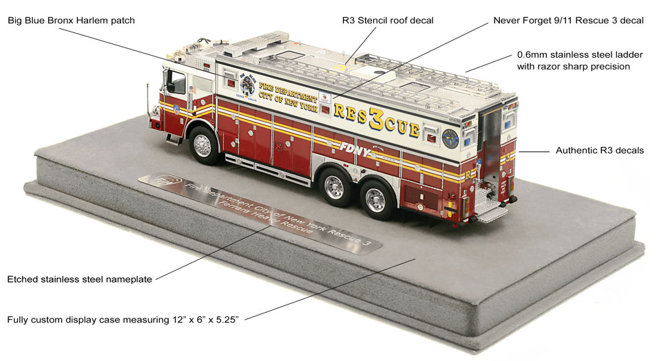 Rescue 3 authentic graphics and features