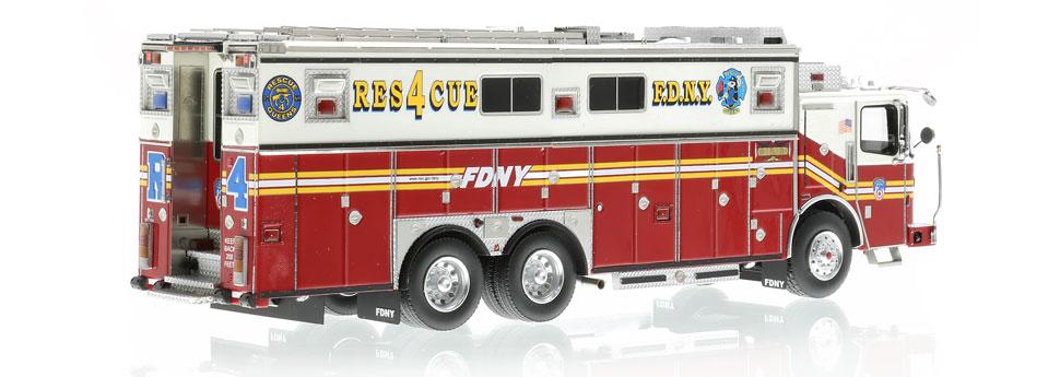 Authentic to FDNY Rescue 4 Ferrara Heavy Rescue