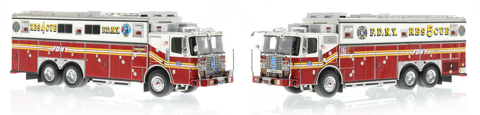 Complete your FDNY Collection with Rescues 4 & 5!