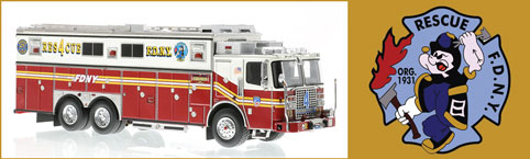 FDNY Rescue 4 from Queens, NY
