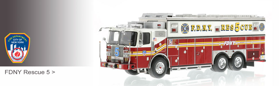 Secure your FDNY Rescue 5 today!